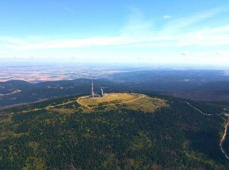 Rundflug Luftaufnahme Harz
